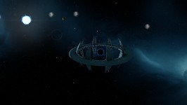 Remnant of a Galactic Hegemony