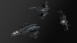 Sabre Starfighter [Textured]