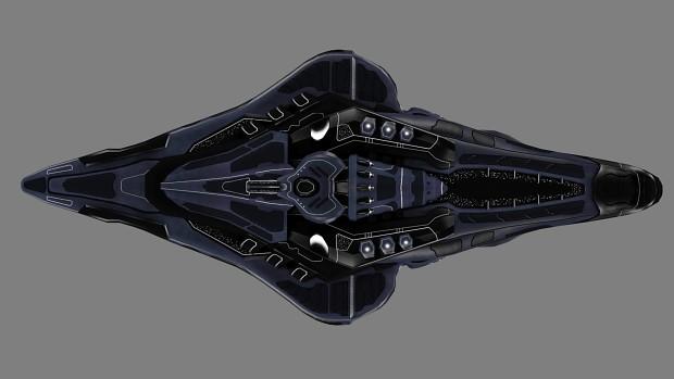 DOS-class Supercruiser Textured