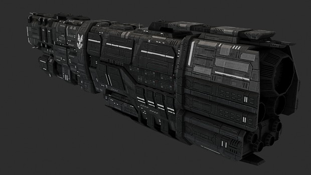 Valiant-class Super Heavy Cruiser (UNSC Everest)