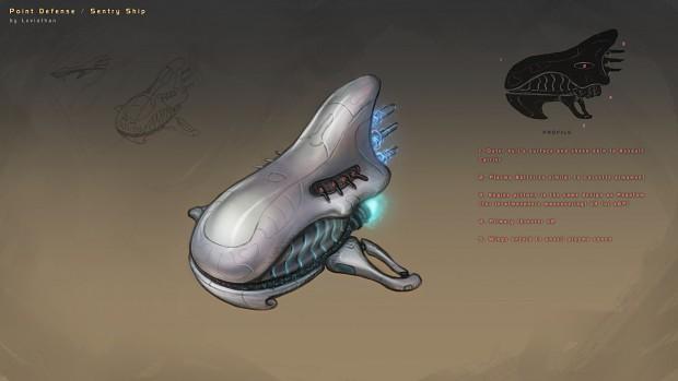 Covenant Sentry Corvette [Concept]