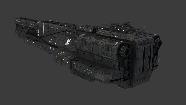 UNSC Light Carrier [Textured]