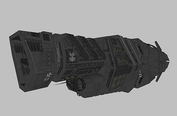 Mystery UNSC Warship WIP