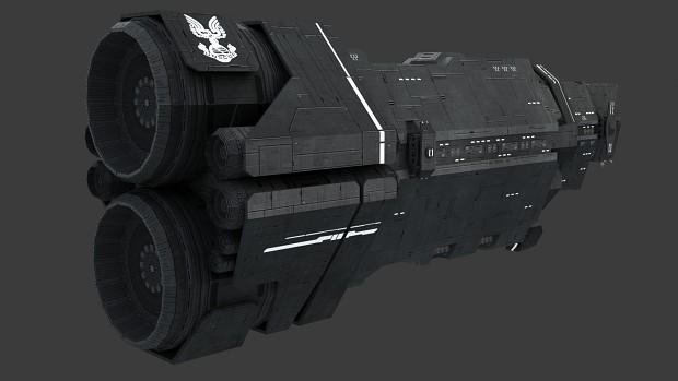 Halcyon-Class Cruiser (Textured)