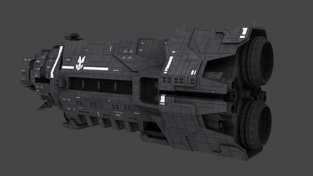 Halcyon-Class Refit (Textured)