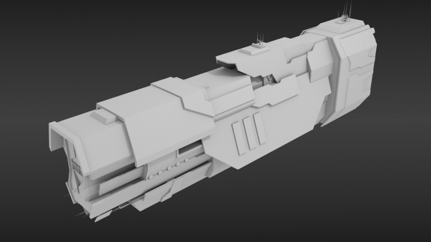 UNSC Super Carrier WIP 2