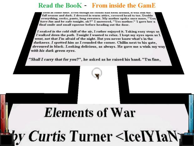 Read the Elements of War BooK