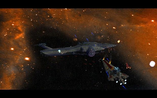 Malevolence wipes out a fleet...