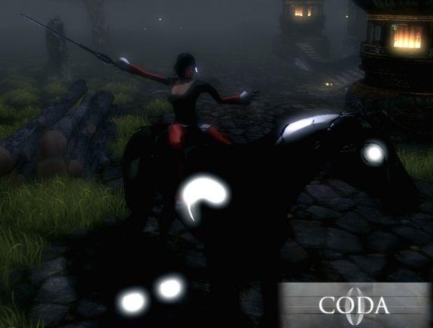 In Game Screen of Coda Beta v0.1