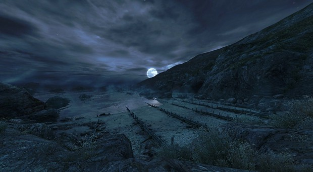 An Early look at the final level of Dear Esther