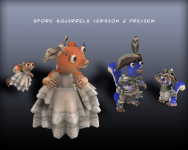 Spore Squirrels! Version 2 Preview