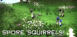 Spore Squirrels In-Game Screenshot - Creature