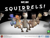 Squirrels! Version 1 promo
