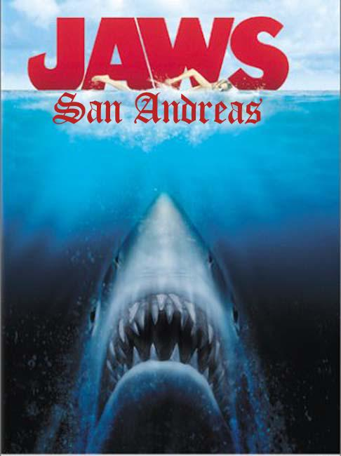 JAWS: San Andreas Official Box Art