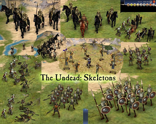 The Undead: Skeletons