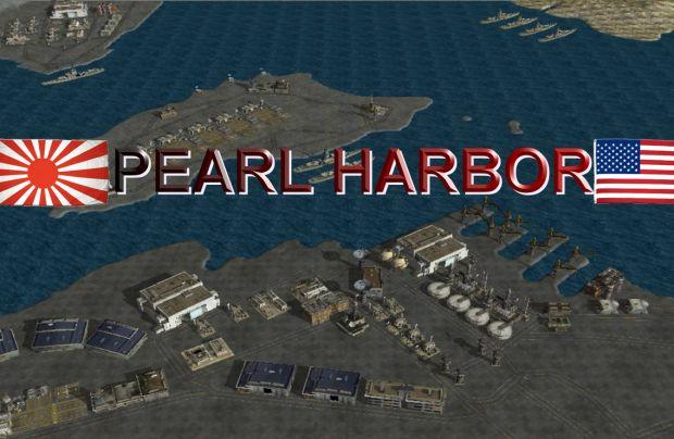 Map pearl Harbor