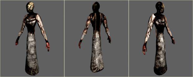 Dress Figure from every angle