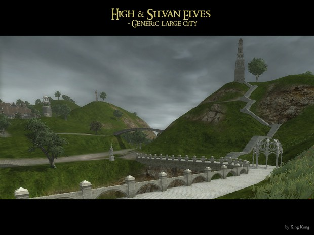 elven large city