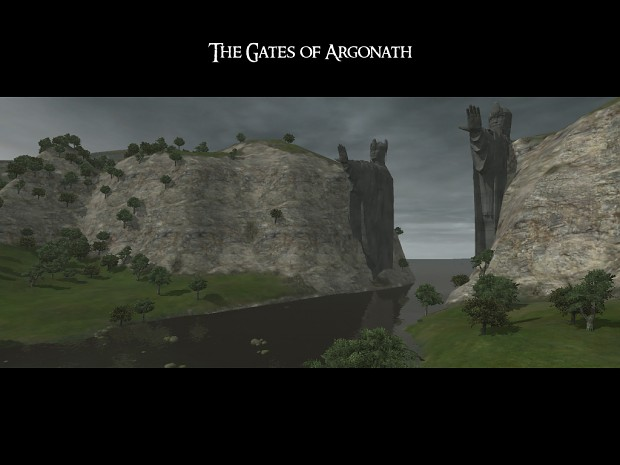 The Gates of Argonath