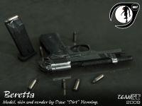 Beretta render