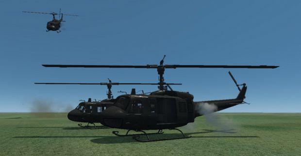 UH-01 Huey Helicopter
