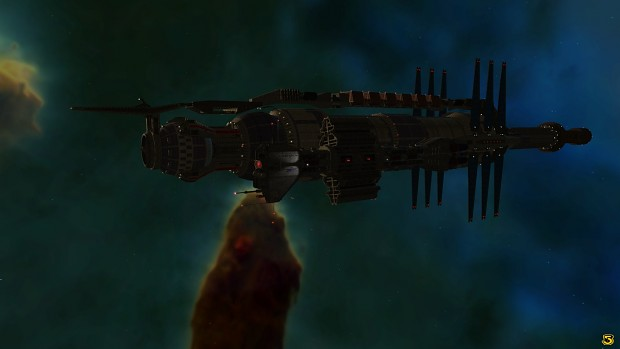 Night time at Babylon 5