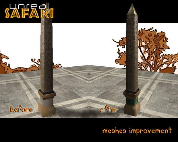 Meshes Improvement
