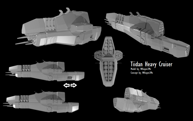 Taiidan Heavy Cruiser