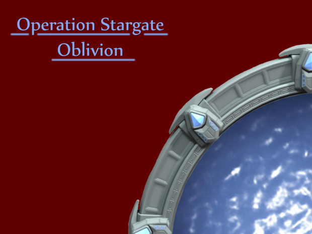 Operation Stargate - Oblivion Background