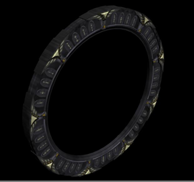Stargate Model Image Operation Sci Fi Oblivion Mod For Elder