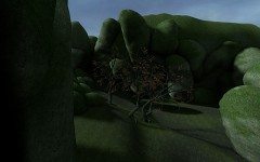 The Dangerous Pass, Boulders (WIP) - April 2011