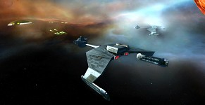 Klingon attack on Ferrengi