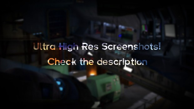 Ultra High Def Screenshots!