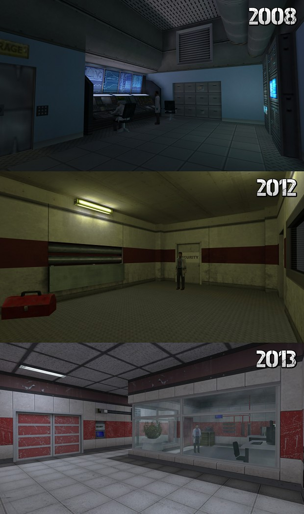 Briefing room over the years