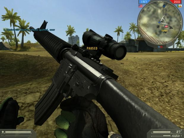M16A4 w/ACOG