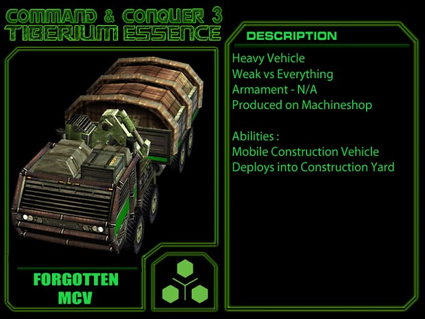 Manual Forgotten MCV