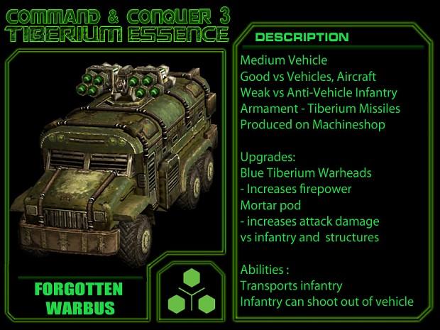 Manual Forgotten Warbus