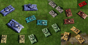 Medium Tank Sporting House Colors