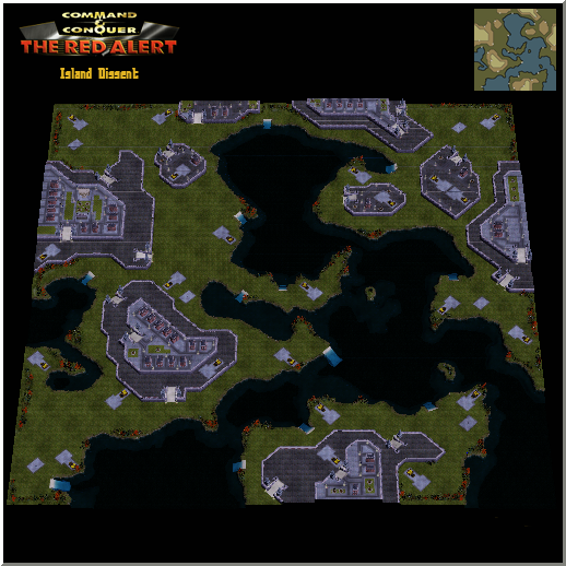 New Multiplayer Maps in The Red Alert