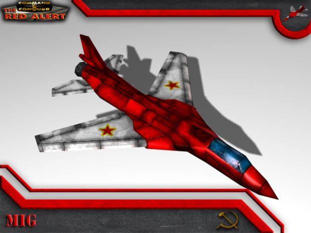 Soviet MiG Render