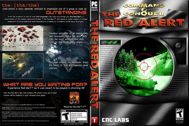 The Red Alert: Box Art