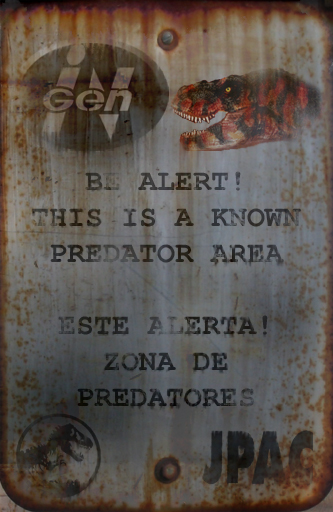 InGen Known Predator Area