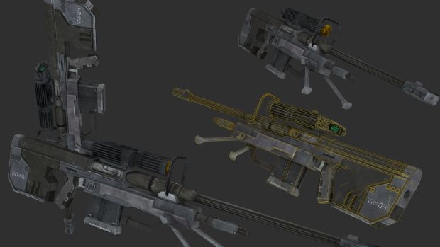 H3 Sniper Rifle Finished