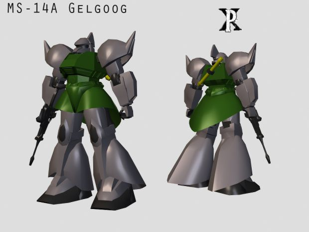 MS-14A Gelgoog Model, no textures