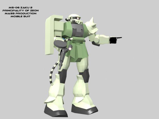 MS-06 Zaku 2