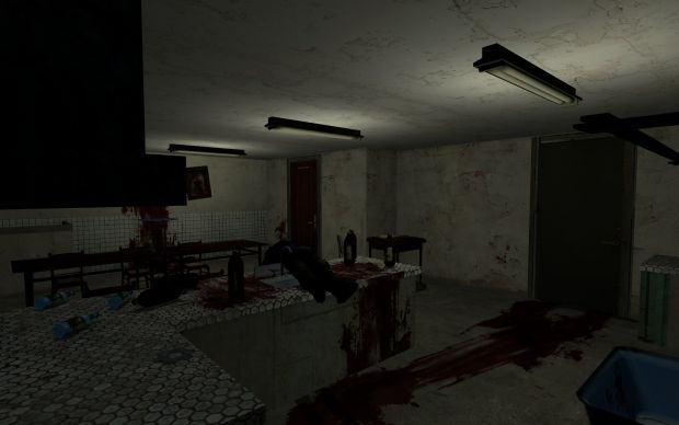 a lovely little kitchen image horror house mod for half