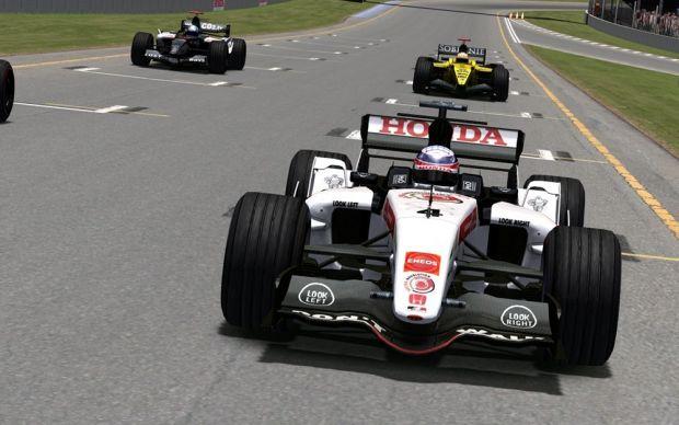 CTDP F1 2005 rFactor ingame