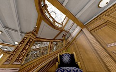 Aft Grand Staircase finished
