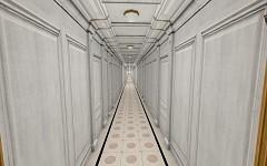 C Deck Middle Corridors