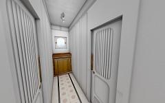 C Deck forward corridors finished